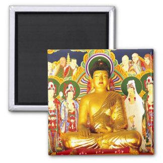 Serenidad de la tranquilidad de la paz de Buda Imanes Para Frigoríficos