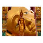 Serenidad de la tranquilidad de la paz de Buda Tai Postal