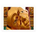 Serenidad de la tranquilidad de la paz de Buda Tai Tarjetas Postales