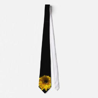 Serenidad del girasol corbatas personalizadas