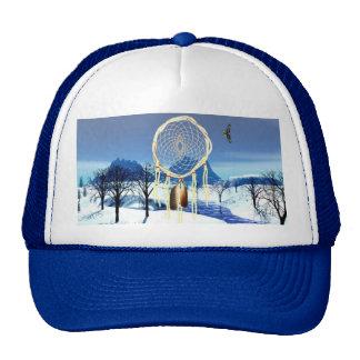 Serenidad del invierno gorras de camionero