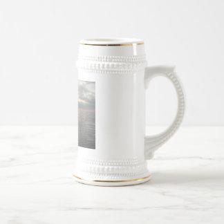 Serenidad del océano tazas de café