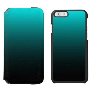 Serenidad del suelo marino funda billetera para iPhone 6 watson
