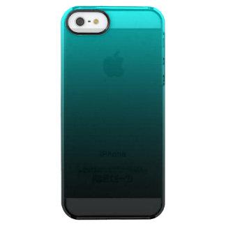 Serenidad del suelo marino funda clear para iPhone SE/5/5s