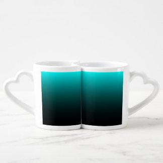 Serenidad del suelo marino set de tazas de café