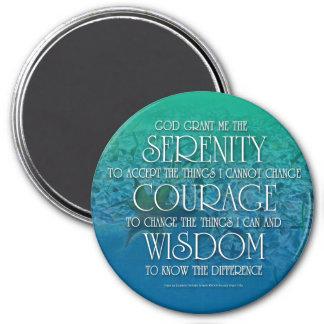Serenidad, valor, imán de la sabiduría