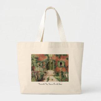 "Serenita, ""Serenita"" by Susan Frech-Sims Large Tote Bag"