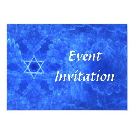 "Serenity 5"" X 7"" Invitation Card"