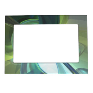 Serenity Achieved Abstract Magnetic Picture Frame