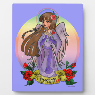 Serenity Angel Plaque