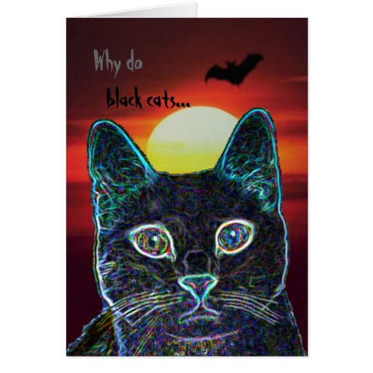 Serenity as black cat -- customized card
