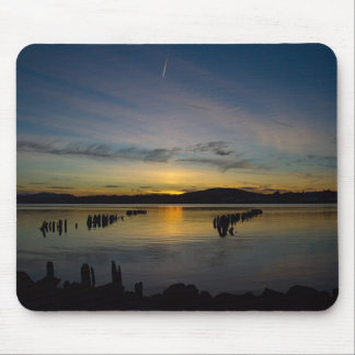 Serenity Below Landscape Mouse Pad