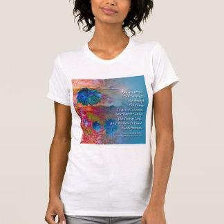 Serenity Blue Flowers Tshirt