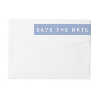 Save the Date Return Address Labels