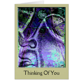 Serenity Blue Thinking Of You Card