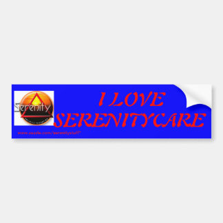 Serenity Bumper Sticker Car Bumper Sticker