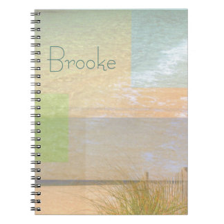 Serenity By The Sea Notebook Personalized