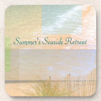 Serenity By The Sea Personalized Coasters