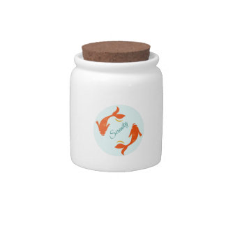 Serenity Candy Jars