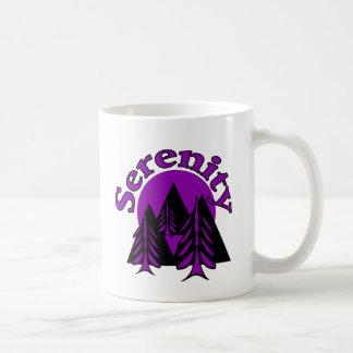 Serenity Classic White Coffee Mug