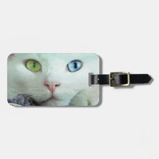 Serenity close-up bag tags