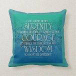 Serenity, Courage, Wisdom American MoJo Pillow