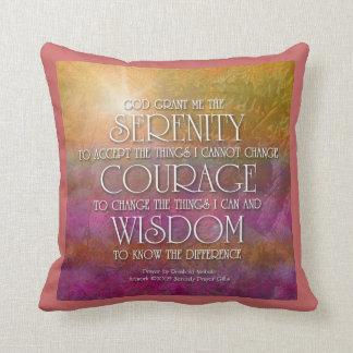 Serenity, Courage, Wisdom American MoJo Pillow