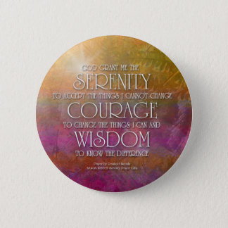 Serenity Courage Wisdom Button