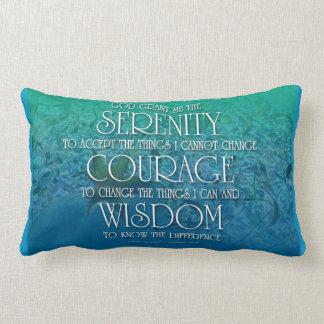Serenity, Courage, Wisdom Pillow