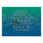Serenity, Courage, Wisdom Poster