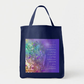 Serenity, Courage, Wisdom Prayer Bag