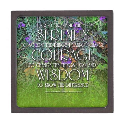 Serenity Courage Wisdom Premium Gift Box