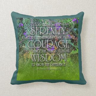 Serenity Courange Wisdom American MoJo Pillow