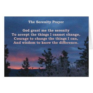 Serenity Dawn Card