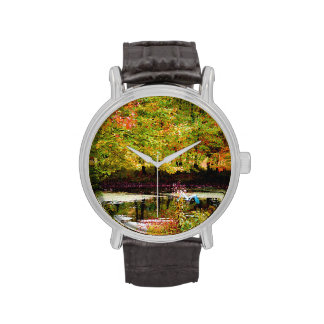 Serenity (Digital Oil on Canvas Simulation) Wristwatches