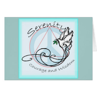 Serenity Dove Greeting Card