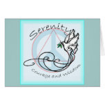 Serenity Dove Greeting Card