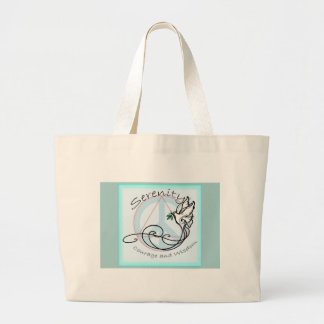 Serenity Dove Large Tote Bag