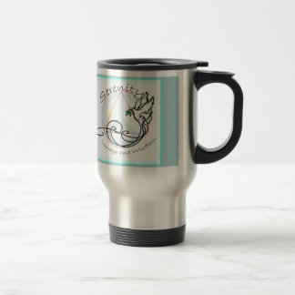 Serenity Dove Travel Mug