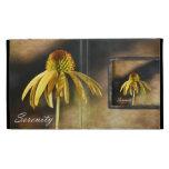 Serenity Echinacea Floral iPad Folio Cases