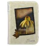 Serenity Echinacea Floral Kindle Cases