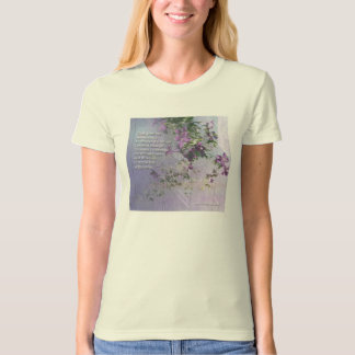 Serenity Fence Flowers T-Shirt