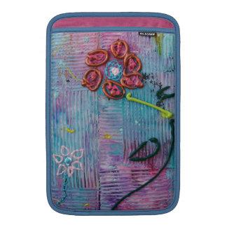 Serenity Flower MacBook Sleeve