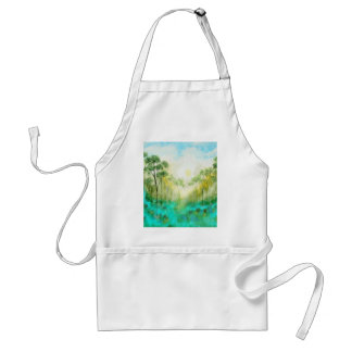 Serenity From Original Painting Adult Apron