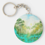 Serenity From Original Painting Keychain