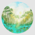 Serenity From Original Painting Sticker