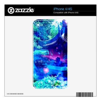 Serenity Garden iPhone 4S Skin