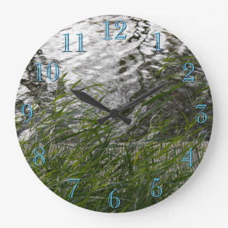 Serenity in nature large clock