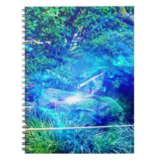 Serenity in the Garden Notebook