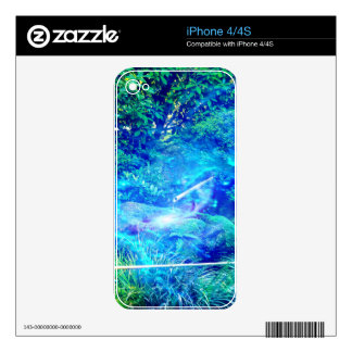 Serenity in the Garden Skins For The iPhone 4S